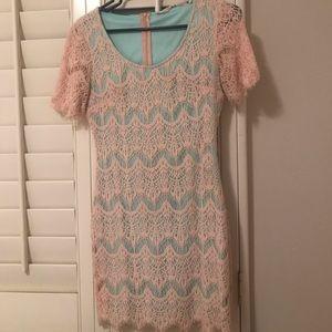 Chelsea & Violet Lace Bodycon Dress